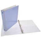 1 inch Light Blue Binder, 8.5x11, Round Ring (Exclusive)