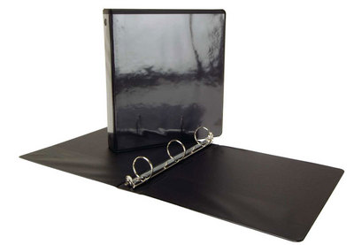 Acco 1.5 inch View Binder Black