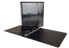 1.5 BLACK BINDER FOR LOOSELEAF TEXTBOO