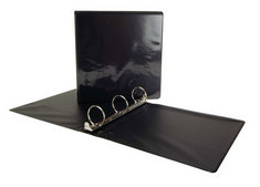 Acco 2 inch View Binder Black