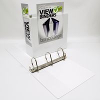 3 VIEW Binder, White Poly, Angle DRing, 11 x 8 12