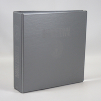 2 Inch Vinyl Binder, 8.5x11, Round Ring, 1 Color Imprint
