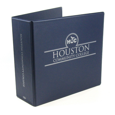 houston community college central campus bookstore 3 inch maroon