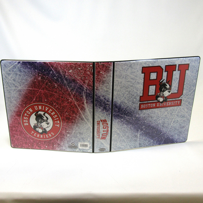 1.5 Inch Sports Collection Hockey Rink Binder, 8.5x11, Round Ring, Full Color Design