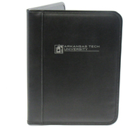 Graduate Alumni Padfolio, Black, 1 Color Screen Print, 8.5x11
