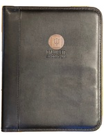 Indiana University Graduate Alumni Padfolio, Black, Medallion & or Deboss, 8.5x11