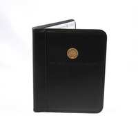 Medallion & Deboss Black 11 x 8.5