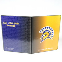 Exclusive 8.5x11 Spirit Collection Pad Holder, Full Color Spirit Design
