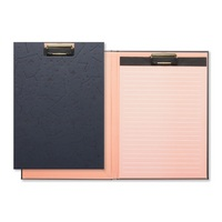 CR Gibson Fold over clipboard padfolio, 50 sheet lined tablet, Measures 8.875 x 12.5