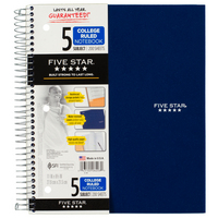 Five Star 5 SUB Notebook