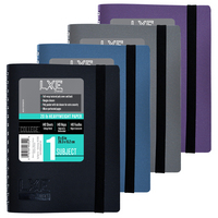 LXE Medium Book Asst Colors 8 x 6 12