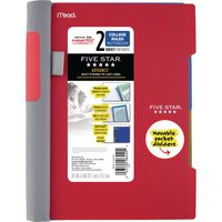 Five Star Advance Wirebound Notebook, 2 Subject, College Ruled, 9 12 x 6