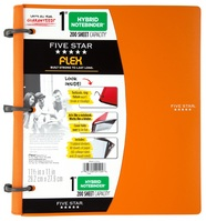 Five Star Flex 1 Hybrid NoteBinder, Assorted Colors