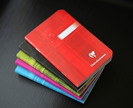 Exaclair The classic Clairefontaine staplebound notebook in assorted colors.
