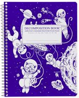 Kittens in Space Coilbound Decomposition Book