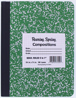 RULED COMPOSITION BOOK