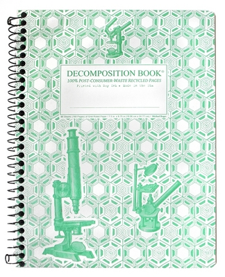 Microscopes Coilbound Decomposition Books with Grid Pages