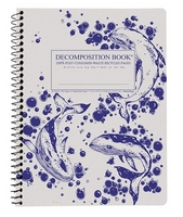 Humpback Whales Coilbound Decomposition Book