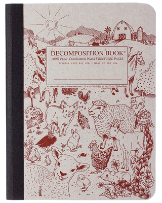 Barnyard Decomposition Book Lined 7.5x9.75