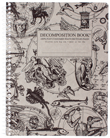 Gargoyles Coilbound Decomposition Book Unlined 7.5x9.75