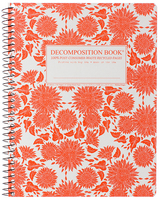 Sunflowers Coilbound Decomposition Book Lined 7.5x9.75