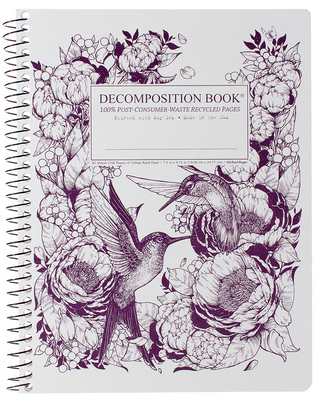 Michael Roger Hummingbirds Coilbound Decomposition Book