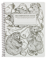 Michael Roger Pear Bears Coilbound Decomposition Book, CR