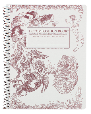 Michael Roger Mermaids Coilbound Decomposition Book
