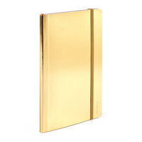 Poppin Metallic Gold Medium Soft Cover Notebook
