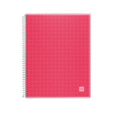 Miquel Rius Candy Code Notebook  4Subject Red cover