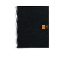 Miquel Rius Orange 1 Subject Notebook