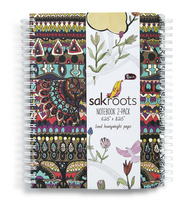 Sakroots Notebook Set (Neon Spirit Desert)