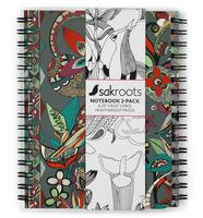 Sakroots Notebook Set Charcoal Spirit Desert