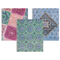 Mead Pretty Please Notebook 1 Subject College Ruled Assorted Designs (Exclusive)