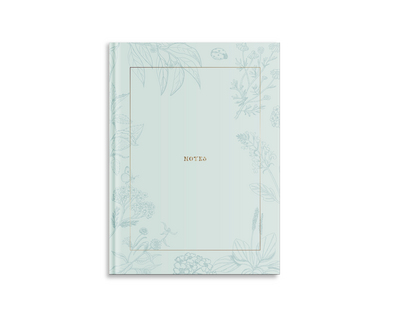 Medium Notebook, Gold Teal (Exclusive)