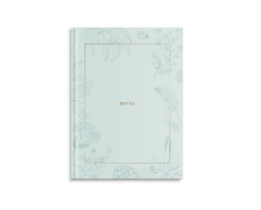 Pierre Belvedere Medium Notebook Gold Teal (Exclusive)
