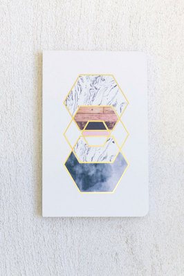 Denik Gold Hexes Notebook