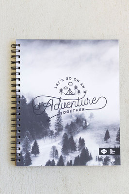 Denik 8 x 10.5 Adventure spiral notebook