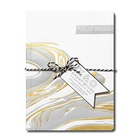 C.R. Gibson Metallic Marble Medium Flex Journal, 5x7