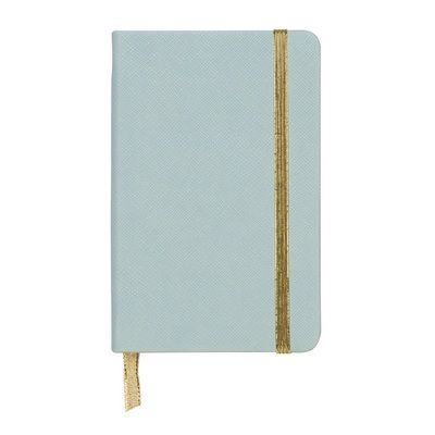 C.R. Gibson Blue Small Journal 3 x 5 12