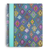 Vera Bradley Large Notebook, Painted Medallions