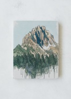 Denik Drawing Mountains Sketchbook
