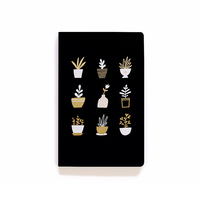 Denik Gold Plants Notebook