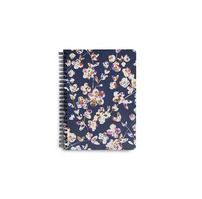 Vera Bradley Mini Notebook with Pocket Cut Vines