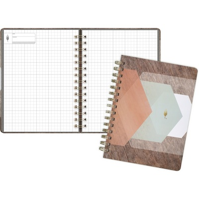 Inkwell Hexagon Hardcover Twinwire Journal (Exclusive)