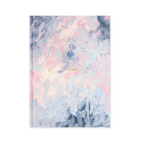 Pierre Belvedere Pink Blue Water Color Journal 7x9