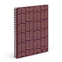 Poppin Wine  Copper 1Subject Spiral Notebook (BNC)