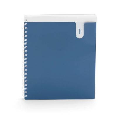 Poppin Slate 1Subject Pocket Spiral Notebook