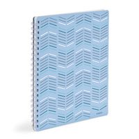 Poppin Sky  Silver 1Subject Spiral Notebook (BNC)