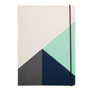Colour Block Large Notebook